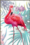 5D Diy Diamond Painting Kits Watercolor Flamingos NA0288