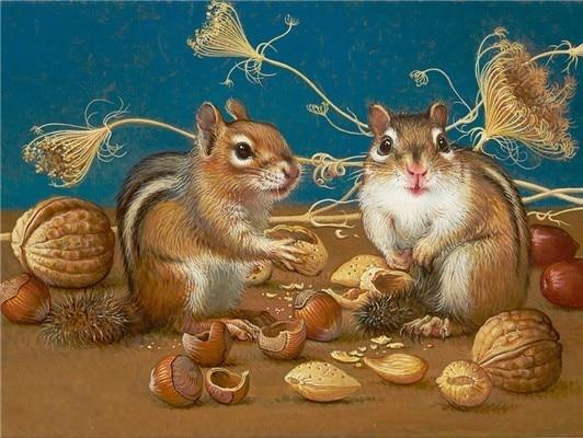 5d Diy Diamond Painting Kits Special Squirrel NA0451
