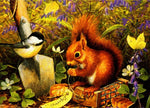 Hot Sale Full Square Drill Squirrel 5d Diy Embroidery Diamond Painting Kits NA0454