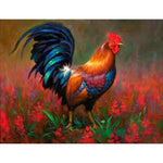 New Arrival Hot Sale Cock 5D Diy Cross Stitch Diamond Painting Kits NA0267