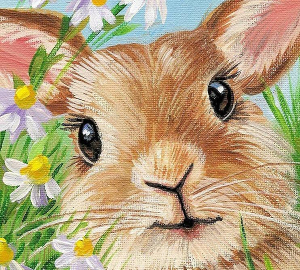 New Arrival Hot Sale Rabbit 5D Diy Cross Stitch Diamond Painting Kits NA0220