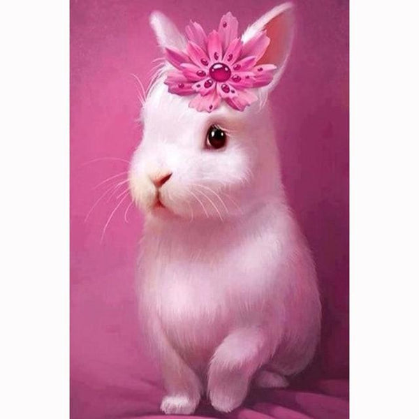 Hot Sale Full Drill Rabbit 5D Diy Embroidery Diamond Painting Kits NA0246