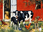 Oil Painting Style Cow 5D Diy Embroidery Cross Stitch Diamond Painting Kits NA0170