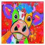 New Arrival Hot Sale Cow 5D Diy Cross Stitch Diamond Painting Kits NA0195
