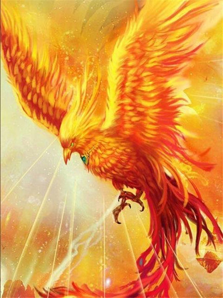 Full Square Dream Phoenix 5D Diy Embroidery Cross Stitch Diamond Painting Kits NA0080