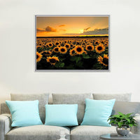 For Beginners Plant Sunflower 5D Diy Diamond Painting Kits NA0060