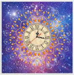 5D DIY Diamond Painting Kits Special Shaped Clock NB0220