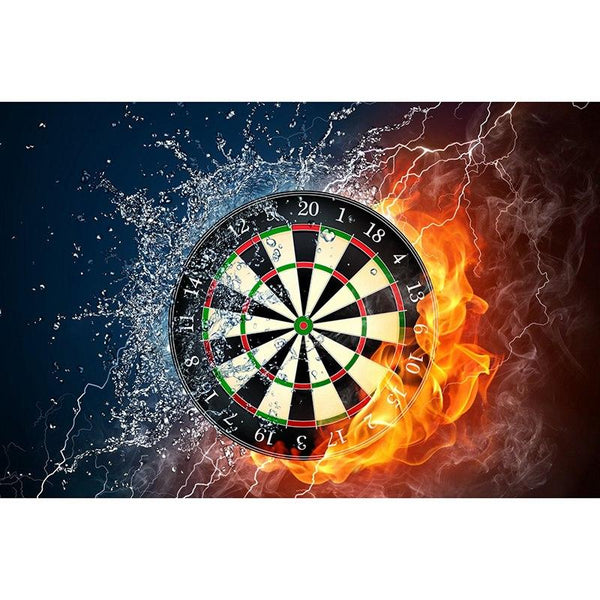 2019 5D Diy Diamond Painting Kits Dartboard Plate VM90093