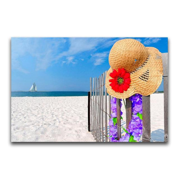 New Arrival Hot Sale Summer Beach 5D DIY Cross Stitch Diamond Painting Kits NA0873