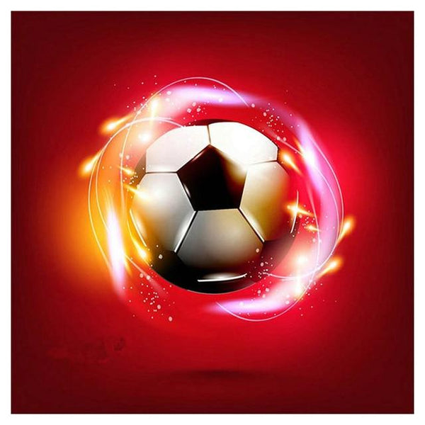 Hot Sale Full Square Drill Football 5D DIY Diamond Painting Cross Stitch Kits NA0626