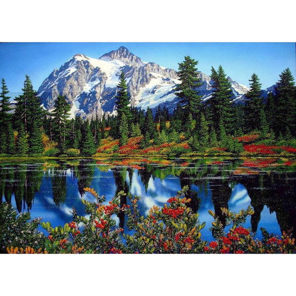 2019 5D Diy Diamond Painting Kits Landscape Mountain VM90194
