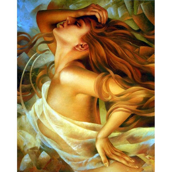 5D DIY Diamond Painting Kits Cross Stitch Art Sexy Girl VM92272