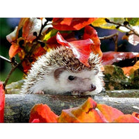 5D Diy Diamond Painting Kits Cross Stitch Cute Hedgehogs VM90829