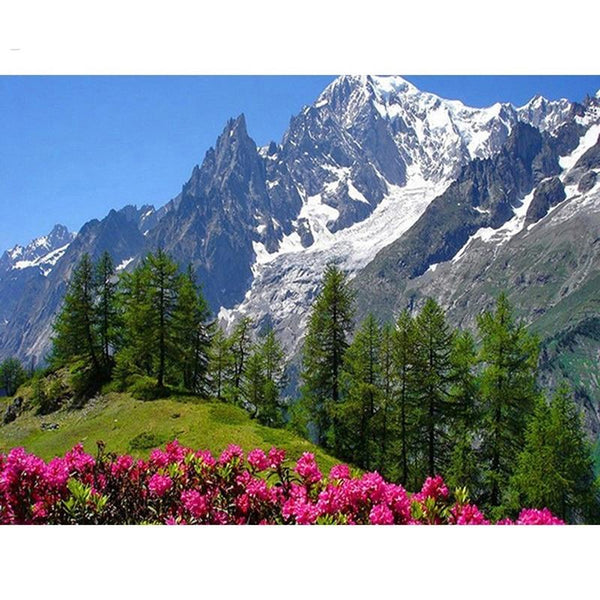 5D DIY Diamond Painting Kits Embroidery Cross Stitch Landscape Mountain VM92177