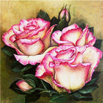 2019 5D Diy Diamond Painting Kits Cross Stitch Art Flower Peony VM90972