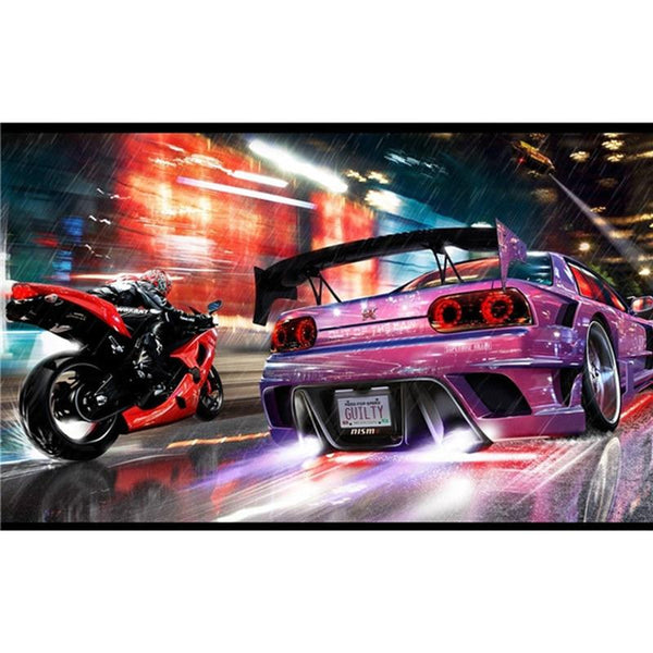 2019 5D Diy Diamond Painting Kits Embroidery Sports Cars VM92349