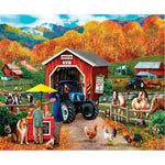2019 5D Diy Diamond Painting Kits Autumn Farm VM90054