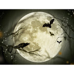 5D DIY Diamond Painting Mosaic Cross Stitch Kits Moon Bat VM92061