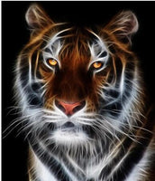 2019 5D Diy Diamond Painting Kits Tiger Pattern VM90835