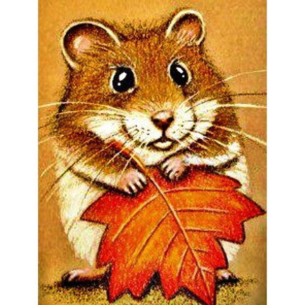 2019 5D Diy Diamond Painting Kits Animals Hamster VM90046