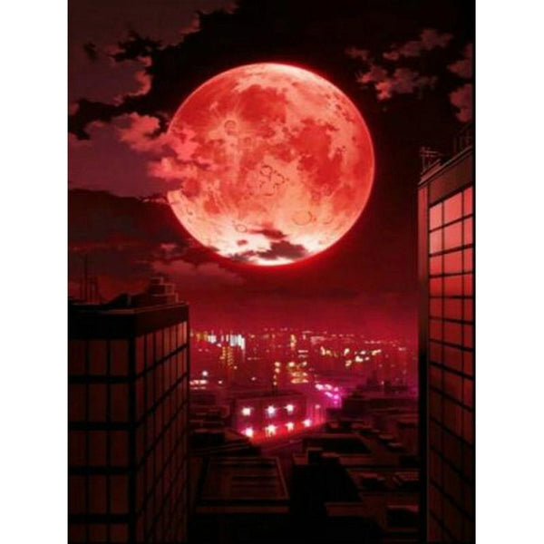 5D DIY Diamond Painting Kits Cross Stitch Scenery Moon VM92264