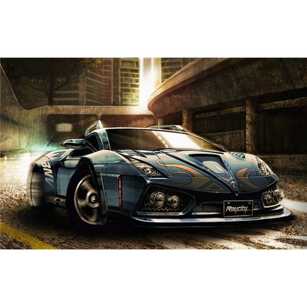 5D DIY Diamond Painting Kits Sports Cars Cross Stitch VM92351
