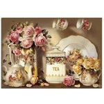 2019 5d Diy Diamond Painting Kits Kitchen Flower Picture VM9494