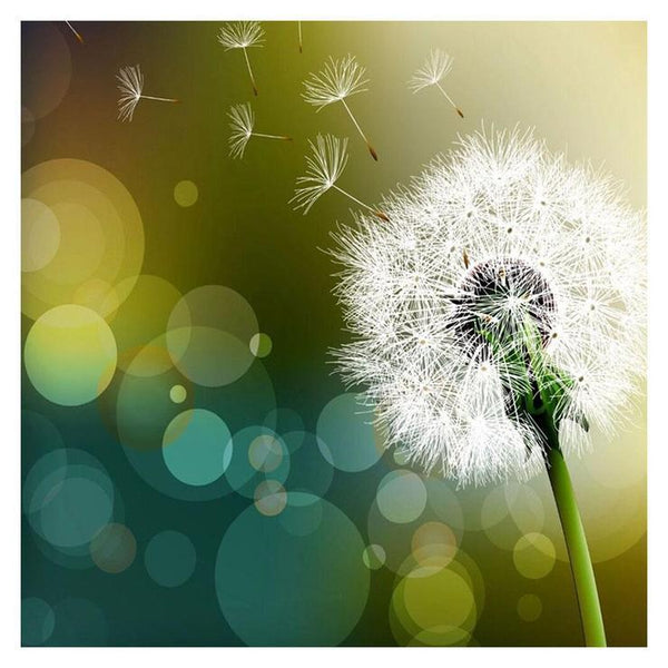 2019 5d Crystal Diamond Painting Kits Cross Stitch Dandelion Diy  QB5159
