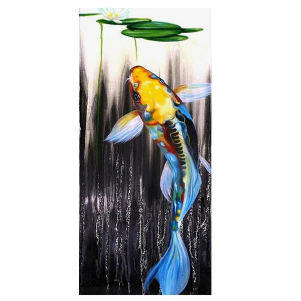 Hot Sale Special Mosaic Cross Stitch Fish Diy 5d Diamond Painting Kits QB5126