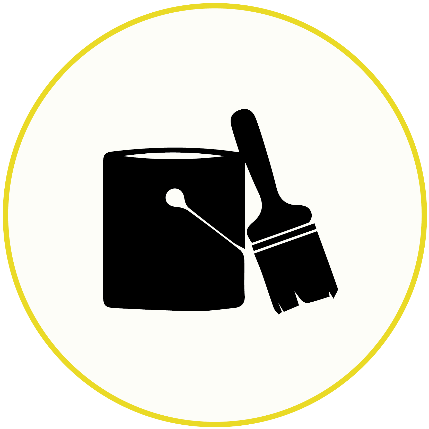 icon of a paint sample pint with a brush