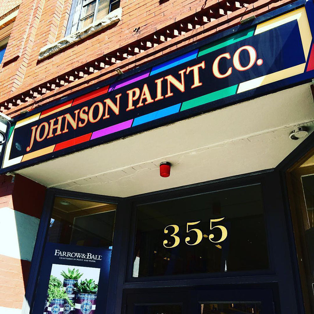 The Johnson Paint Company, established in 1939 your friendly neighbourhood Benajmin Moore store.