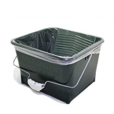Quick n Clean 4 gallon paint tray liner, available at Johnson Paint & Maine Paine in MA, NH & ME.