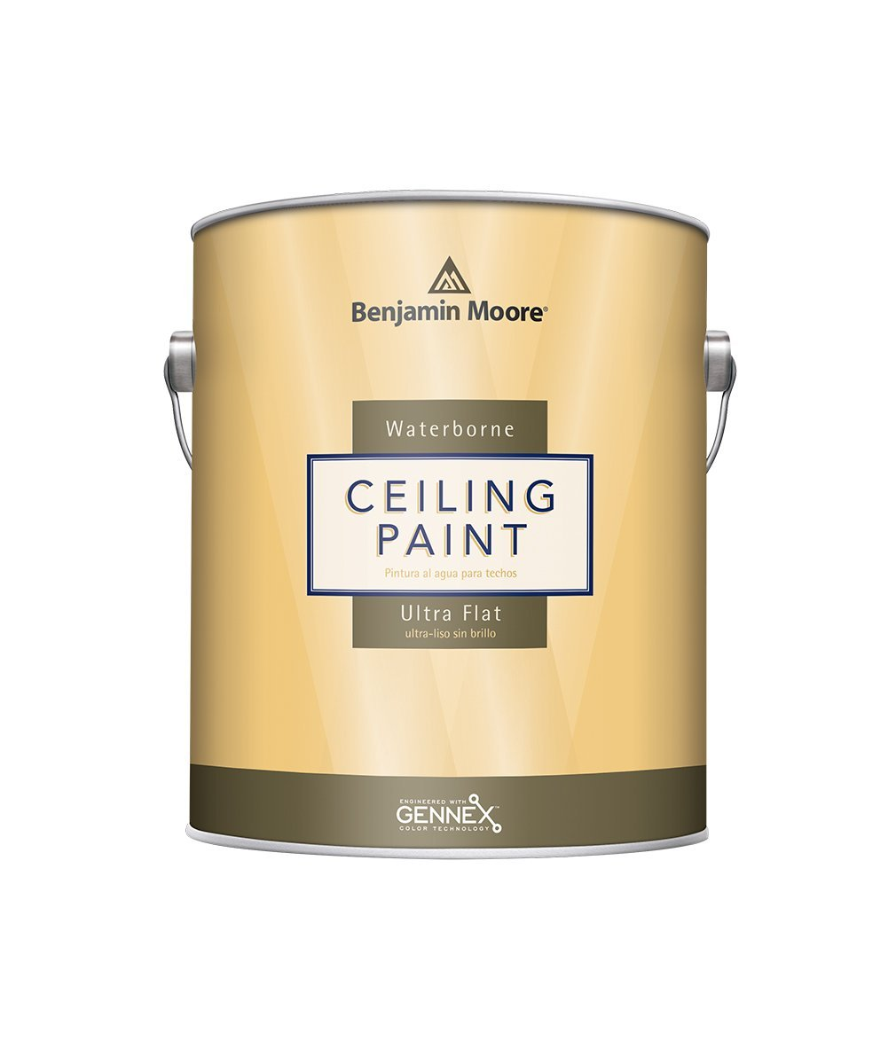 Benjamin Moore Waterborne Ceiling Paint , available at Johnson Paint & Maine Paint in MA, NH & ME.