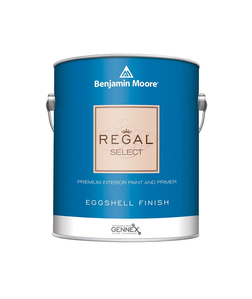 Benjamin Moore Regal Select Eggshell Paint , available at Johnson Paint & Maine Paint in MA, NH & ME.