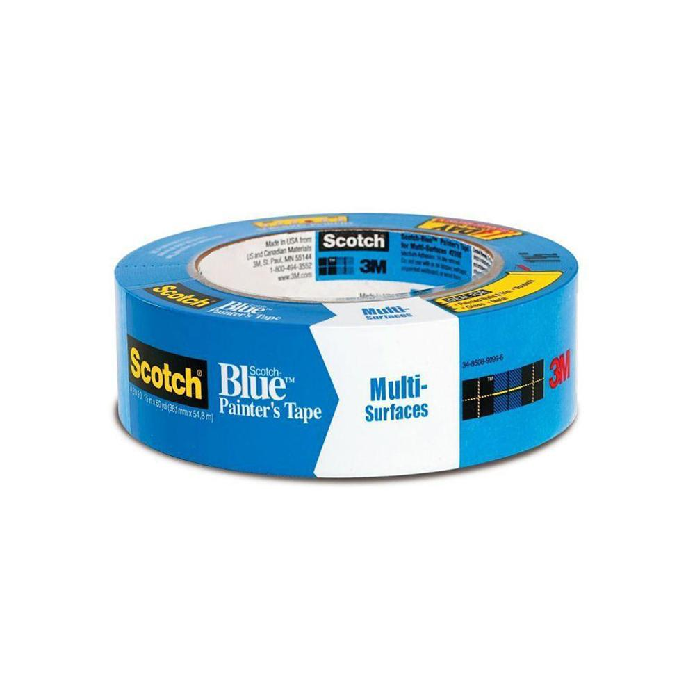 Scotch Blue multi surfaces painter's tape, available at Johnson Paint & Maine Paint in MA, NH & ME.
