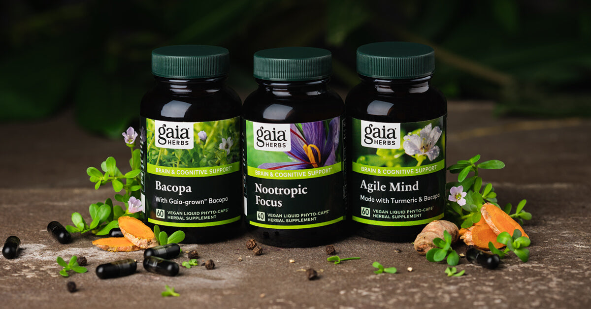 Gaia Herbs Cognitive Support products