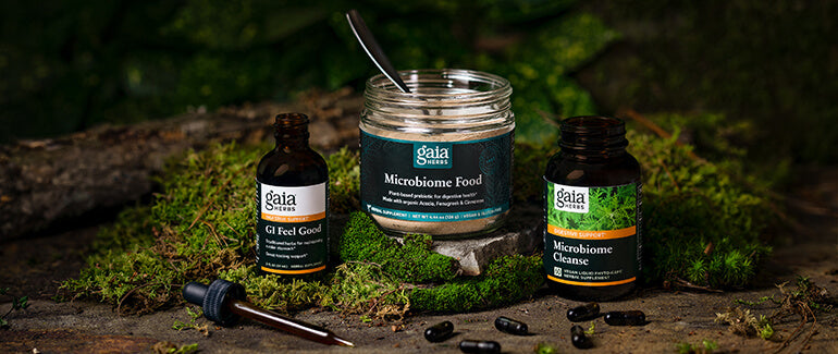 Gaia Herbs Digestive Line of Products