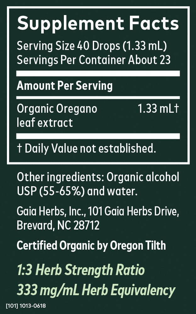 product supplemental facts