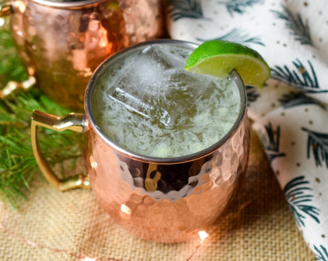 Ginseng Ginger Lime Moscow Mule