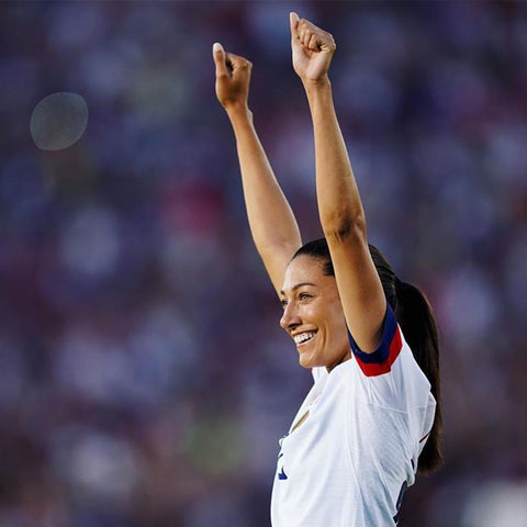 Christen Press learned the importance of hard work and determination at young age