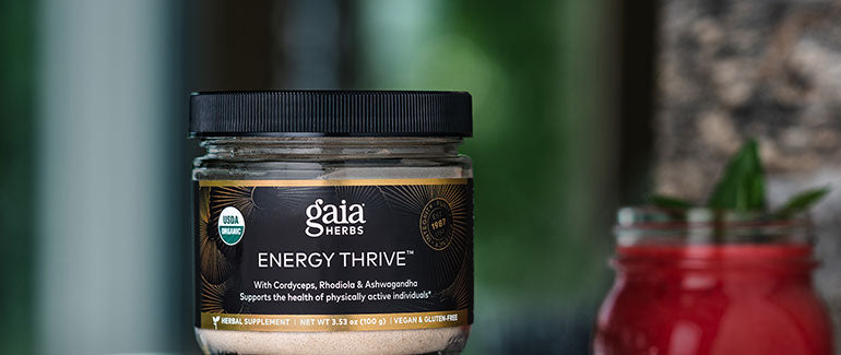 gaia herbs energy thrive