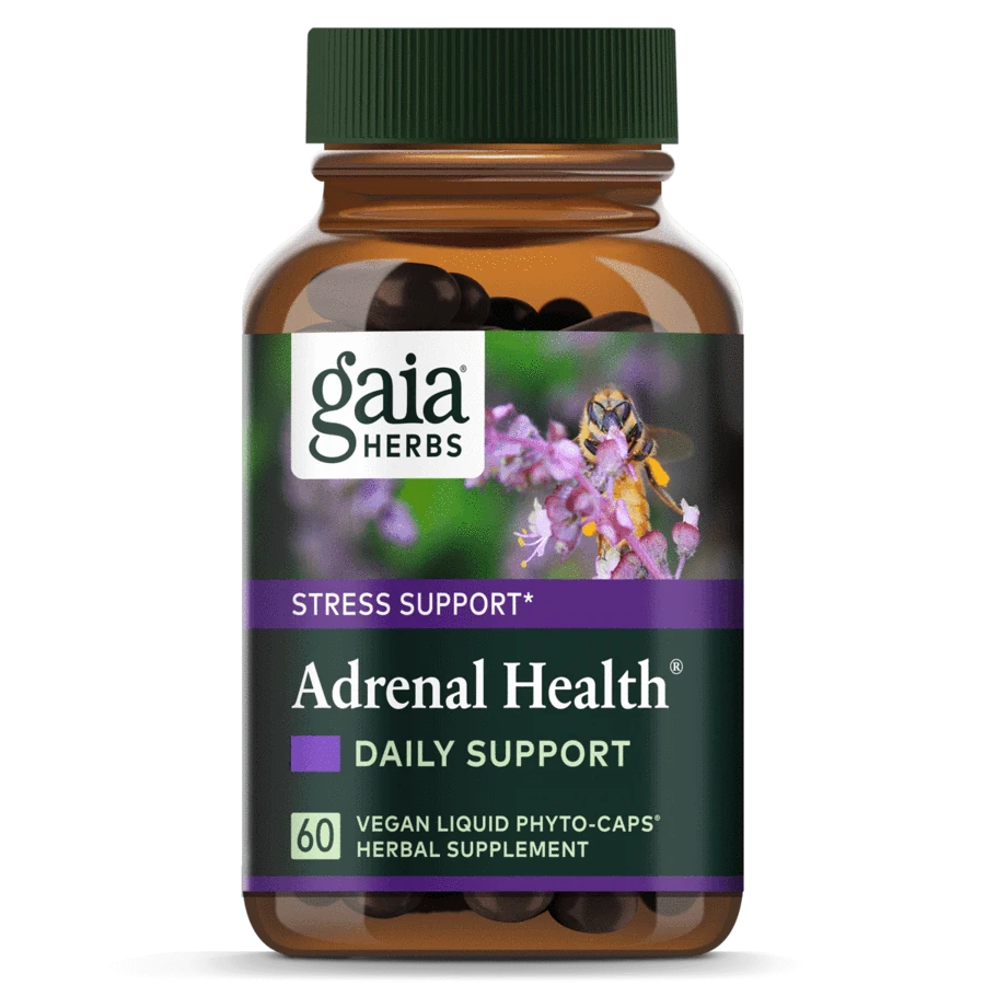 Gaia Herbs Adrenal Health® Daily Support that has herbs for kidney health
