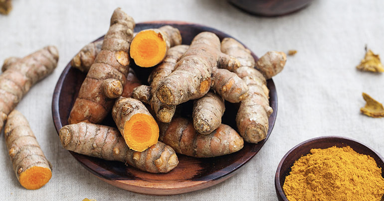 Tumeric is a great herb for pain