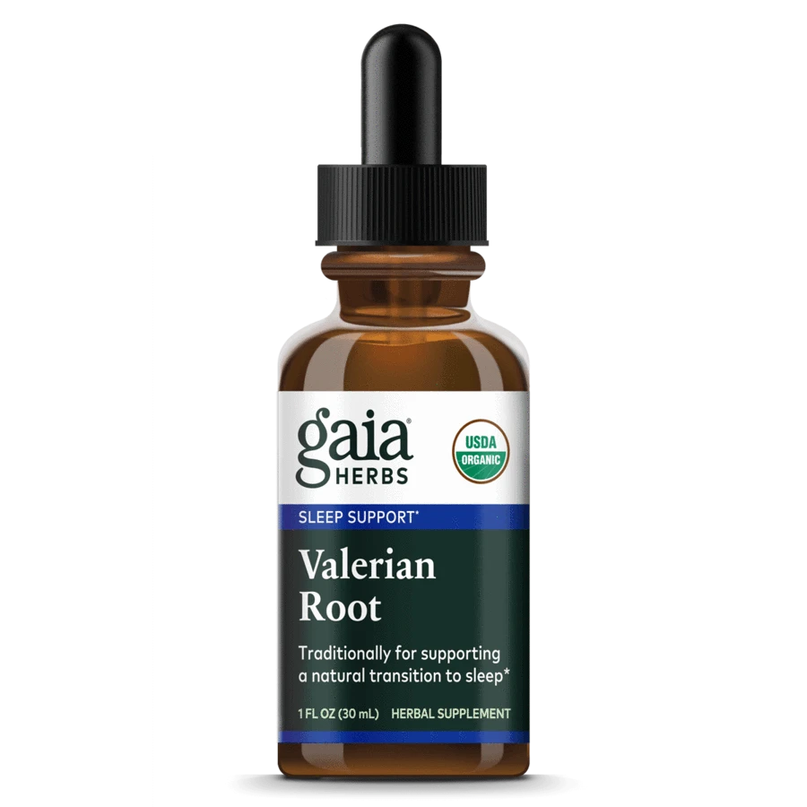 Valerian herbs for sleep in liquid form