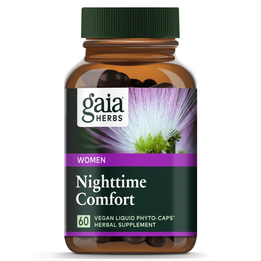 Gaia Herbs Nighttime Comfort Vegan liquid herbal supplement