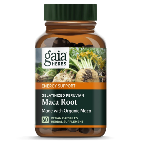 Bottle of Maca Root from Gaiga Herbs
