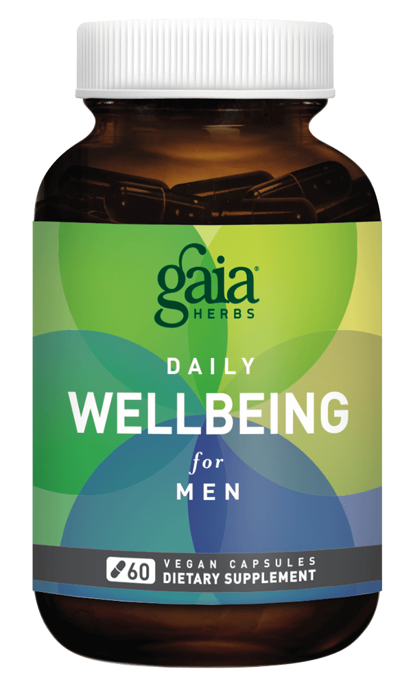 Gaia Herbs Daily WellBeing for Men for Men