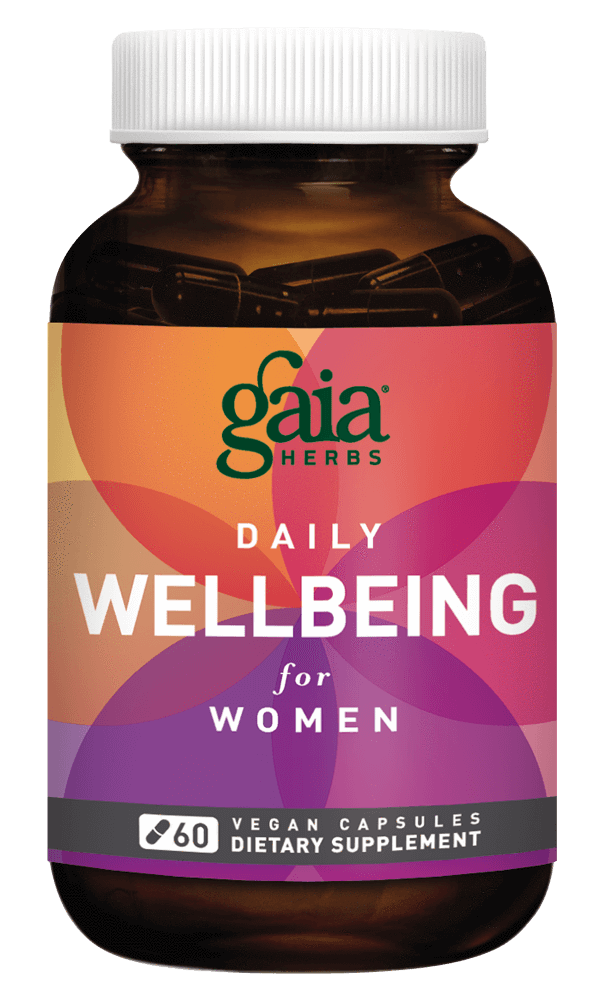 Gaia Herbs Daily WellBeing for Women for Women