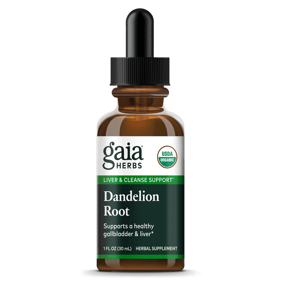 Gaia Herbs Dandelion Root for Liver & Cleanse Support