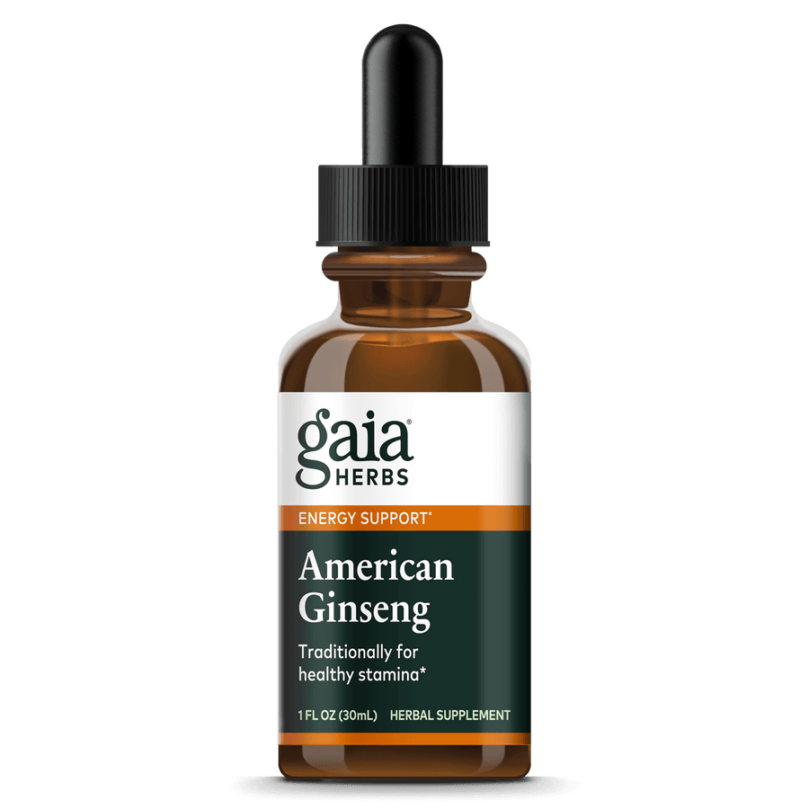 Gaia Herbs American Ginseng for Energy Support